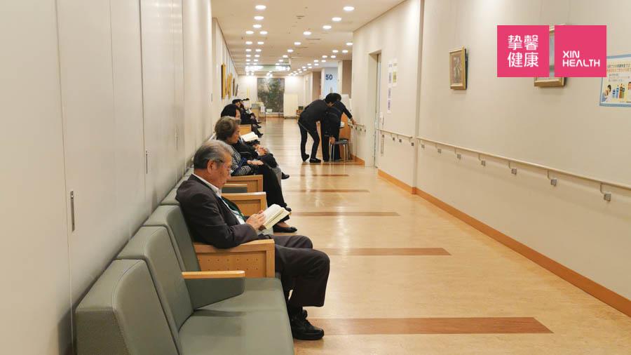 日本医院 整洁舒适的就诊环境