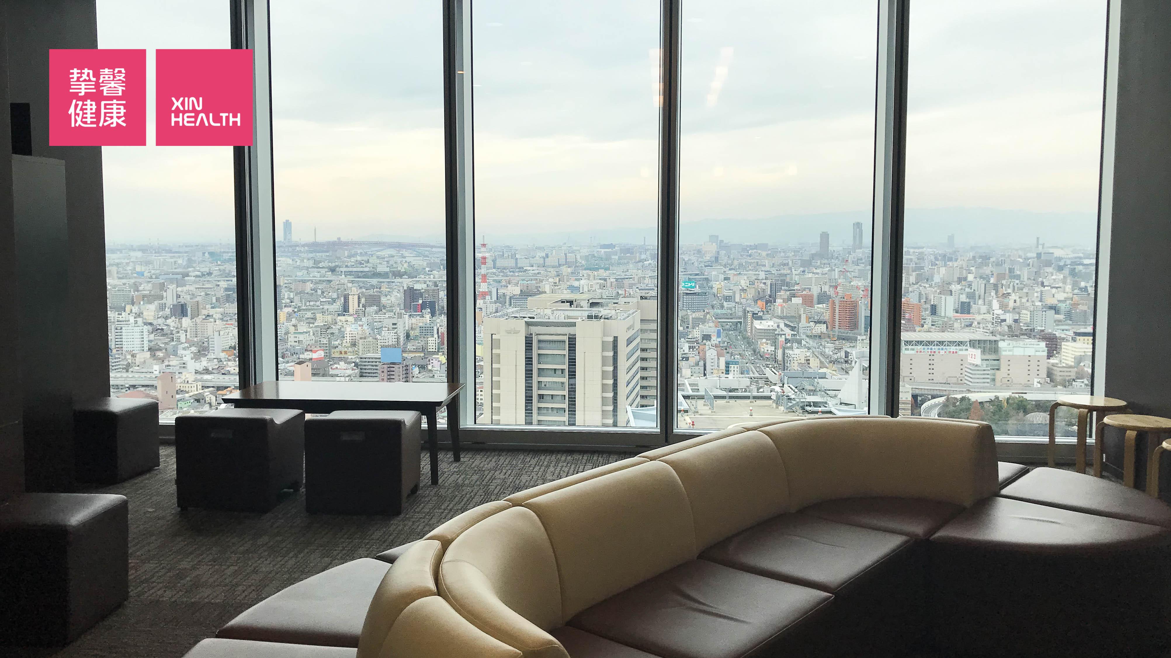 日本医院体检部门 用户休息区域