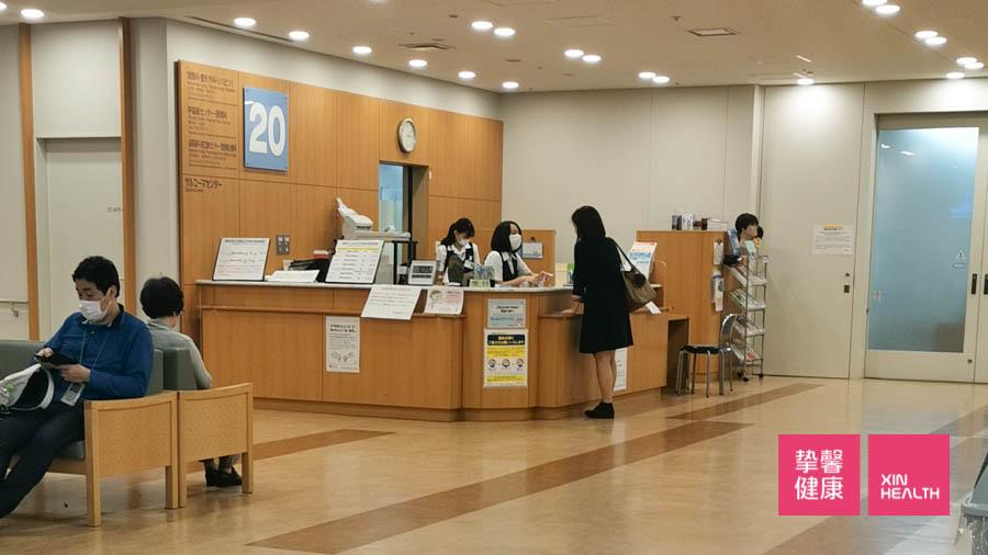 东京癌研有明医院 良好的医院环境