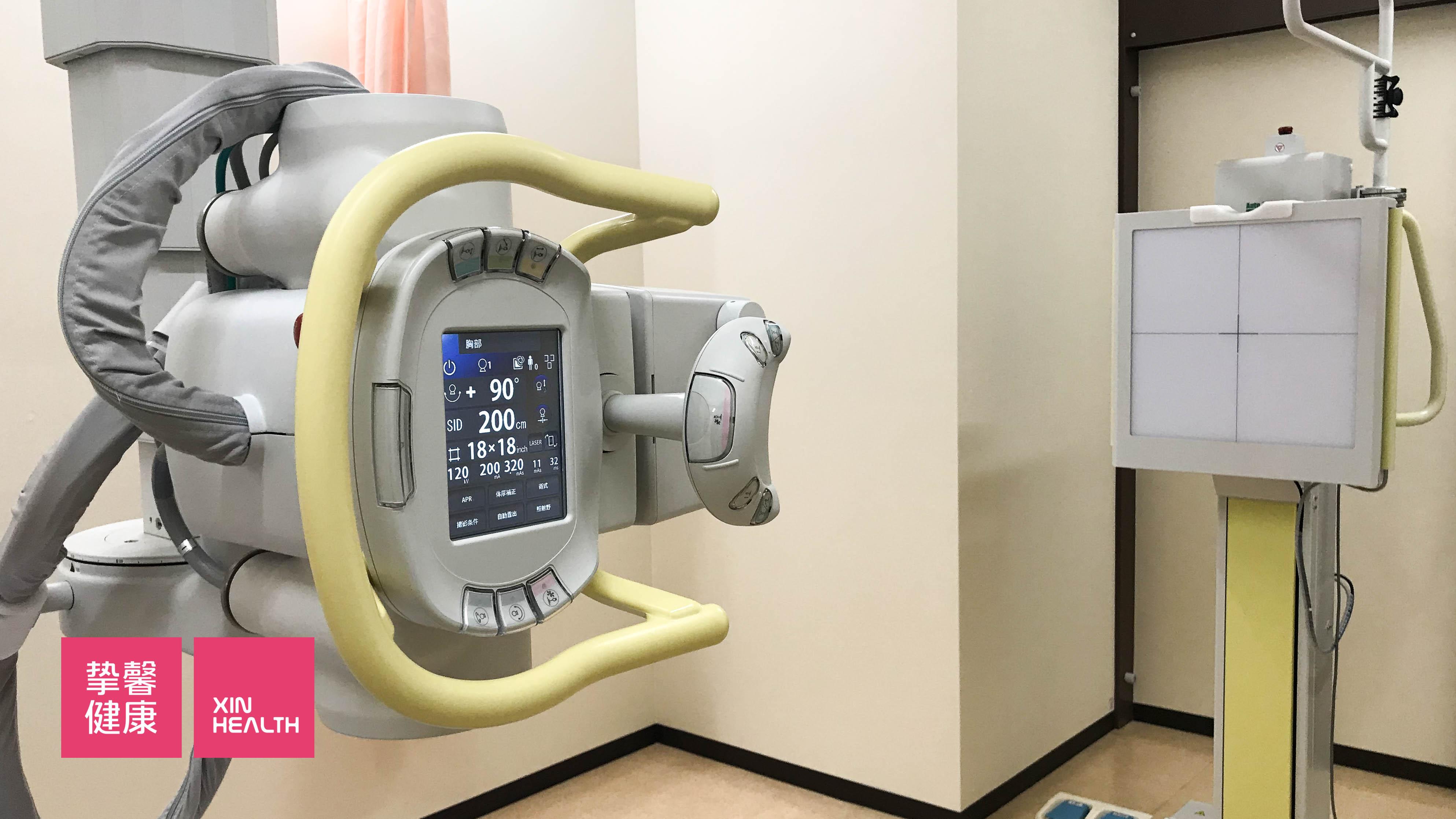 日本高级体检 X光片检查