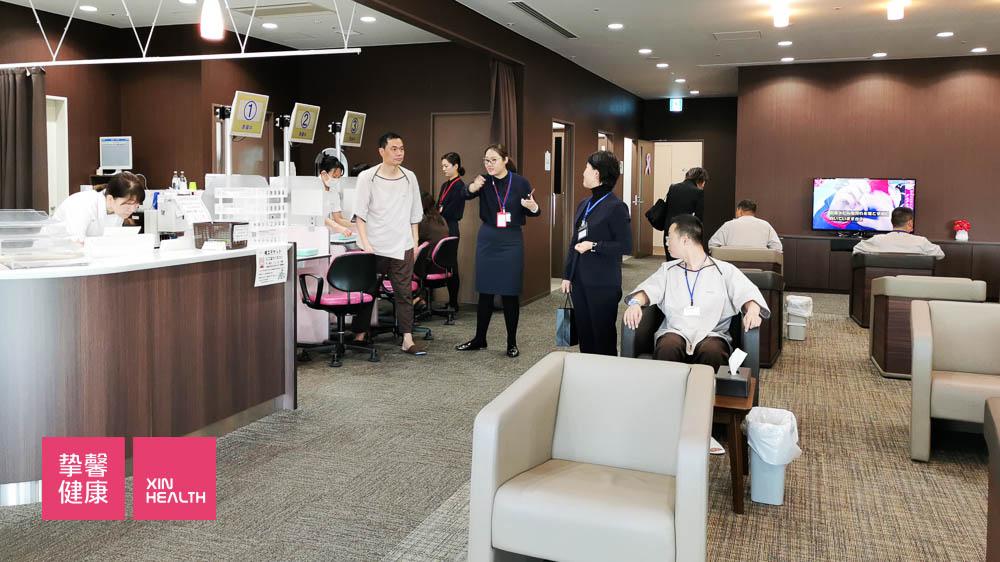 日本高级体检 企业用户体检现场