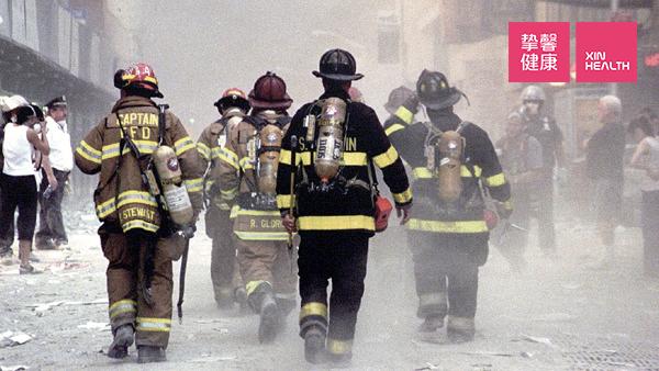 消防员需要强大的心脏功能
