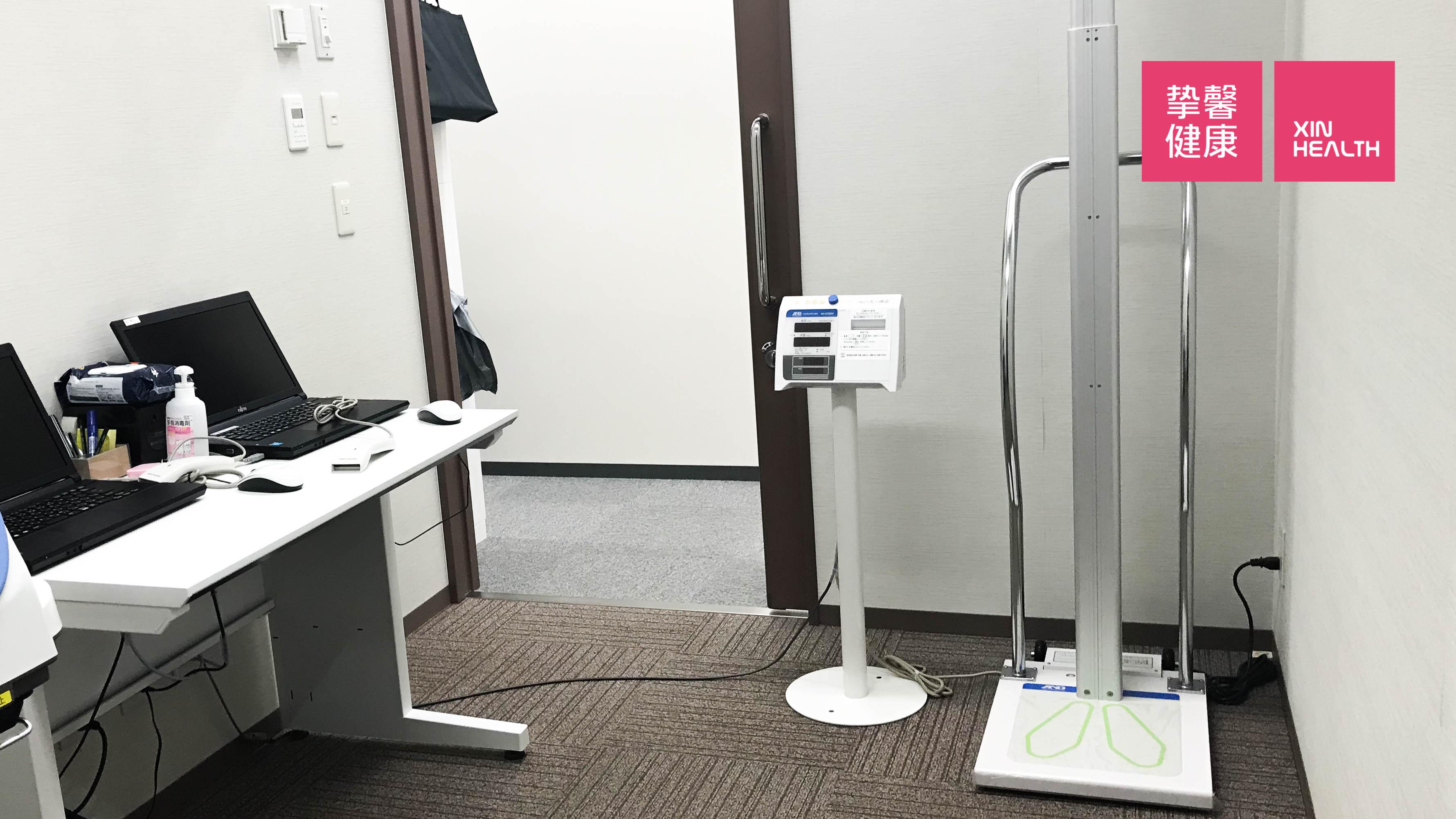 日本高级体检医院 一般检查室