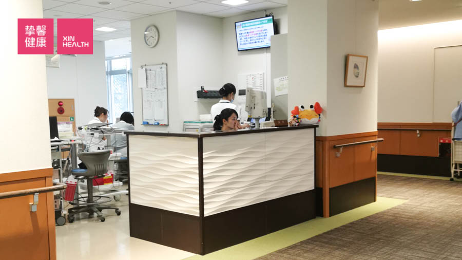 日本医院 护士服务台