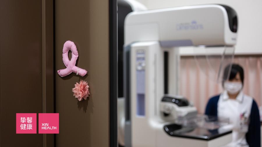 日本高级体检 乳腺钼靶检查