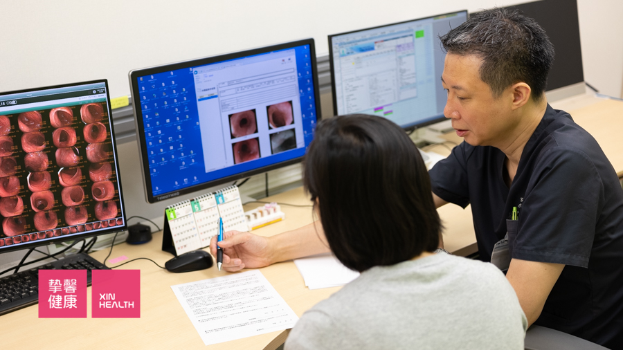 日本高级体检 医生与用户详细讨论问题