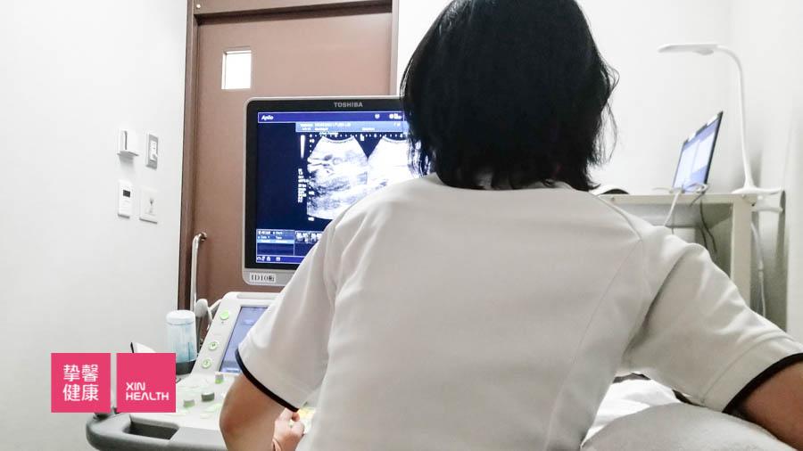 日本高级体检 心脏彩超检查