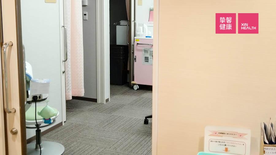 日本高级体检 检查区
