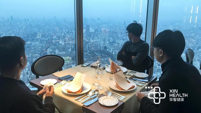 蔡先生、于先生等 2018年2月 赴日本东京
