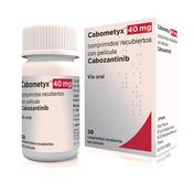 甲状腺癌药物:靶向抗癌药cabozantinib